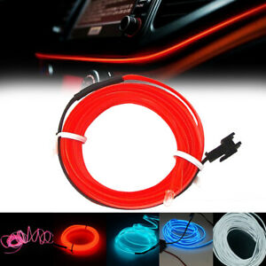 LED-Car-Interior-Atmosphere-Glow-EL-Wire-Neon-String-Strip-Lights-Rope-Tube-Lamp