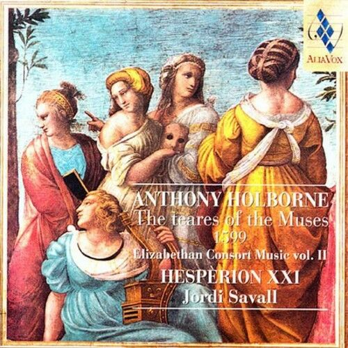 Jordi Savall - Teares of the Muses (1599): Consort Music II [New CD]