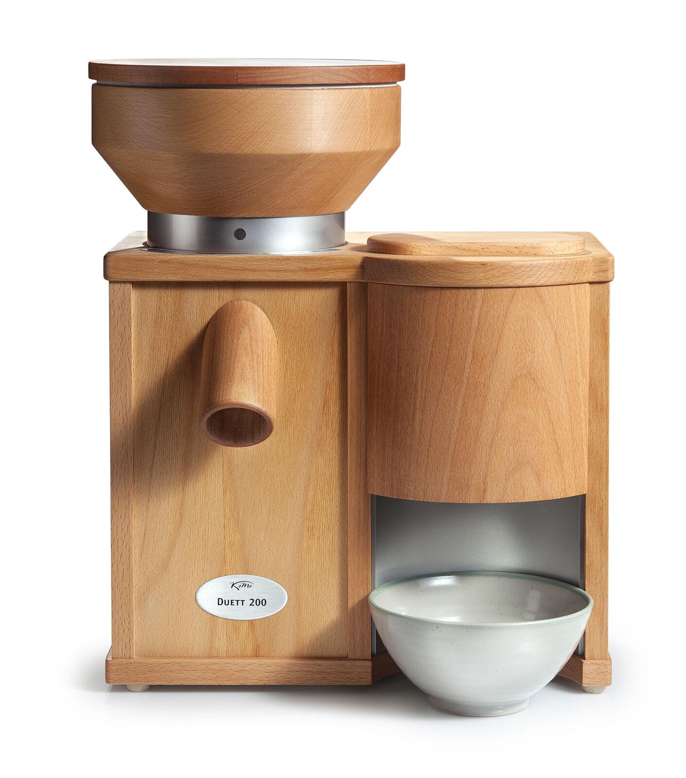 KoMo Duo 200 céréales Moulin avec flocons 600 W