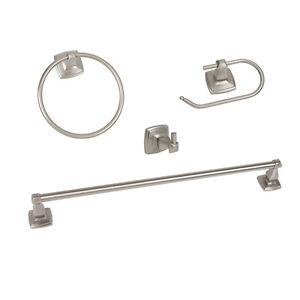 Regal Satin Nickel Bath Hardware Set Bathroom Ebay
