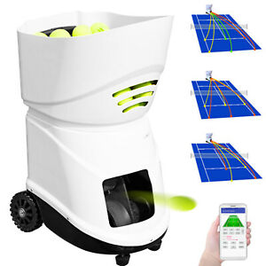 Portable-Tennis-Ball-Machine-Pitching-Throwing-Training-Machine-150-Balls-w-App