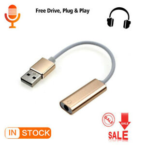 Pc Cable Adapter Voice Card to Headset