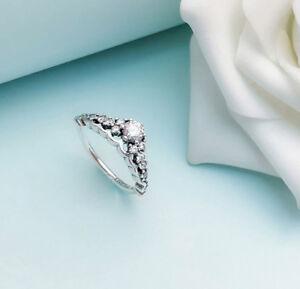 dbea268fd Brand New Authentic Pandora Fairytale Tiara Ring With Cubic Zirconia ...