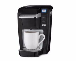 Keurig K15 Single Serve Compact K Cup Pod Coffee Maker Black Ebay