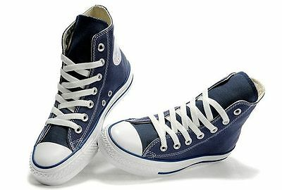 Converse Chuck Taylor Navy Blue Youth Boy Girl Hi Top Kids Shoes Sizes | eBay