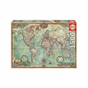 Educa-Borras-mapa-politico-del-mundo-1500-Pieza-Rompecabezas-UG16005