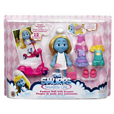 Smurfs Smurfette Chic Deluxe Fashion Doll with Ride On Scooter & Fashions NIB