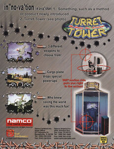 1998 NAMCO 500 GP VIDEO FLYER MINT
