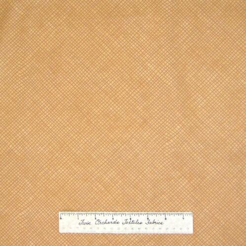 Cotton YARD Winter Magic Beige Brown Basket Weave Riverwoods Fabric