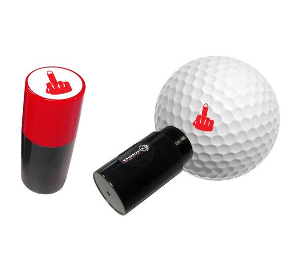 Doigt - Asbri Golf Balle Tampon, Marqueur Balle Golf - Golf Cadeau ou Prix