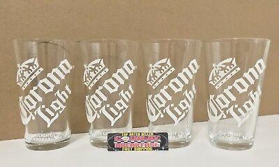 4 16 oz Pint Beer Glasses Brand New!! Miller Lite Taste Activation Set Of