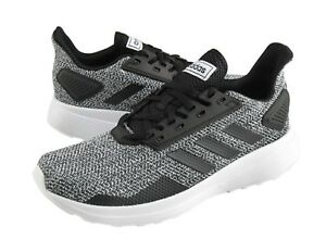 089042d91fd Adidas Men DURAMO 9 Cloud-foam Training Shoes Running Black Sneakers ...