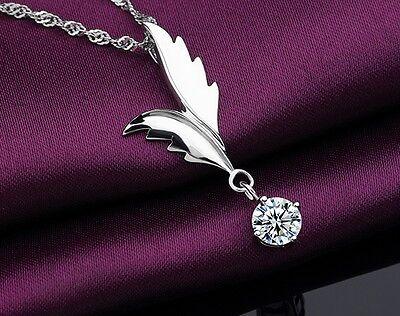 925er Sterling Silber Anhänger Halskette Silberkette Kette Einhänger Rhodiniert