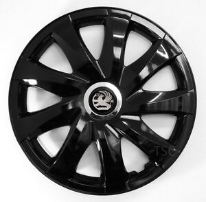 4x15 39 39 wheel trims for vauxhall astra zafira corsa combo vectra black 15 39 39 ebay. Black Bedroom Furniture Sets. Home Design Ideas