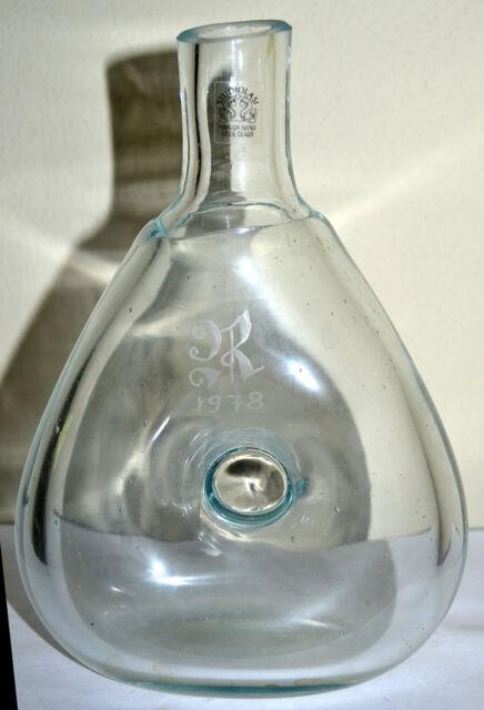 Vintage 1978 Studiolasi Finland Finnish Glass Hand Made Glass Liquor Bottle Ebay