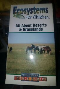 All About Deserts And Grasslands Ecosystems For Children Vhs Ebay