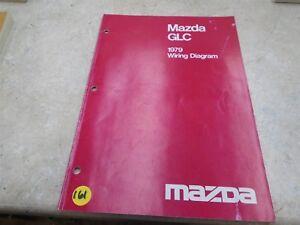MAZDA GLC Used Wiring Diagram Manual VP 1979 VP-CM161 | eBay