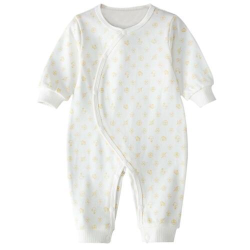 Newborn Baby Boys Girls Cotton Clothes Outfit Cute Romper Jumpsuits Bodysuit Lot