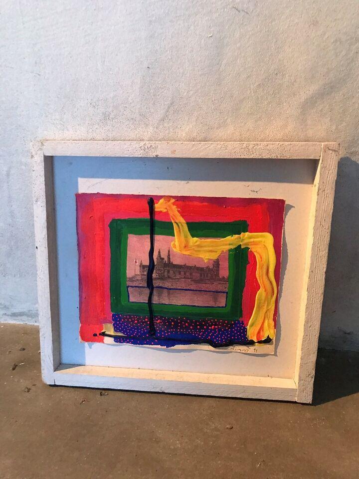 Akrylmaleri, Jimmy Jørgensen, motiv: Andet