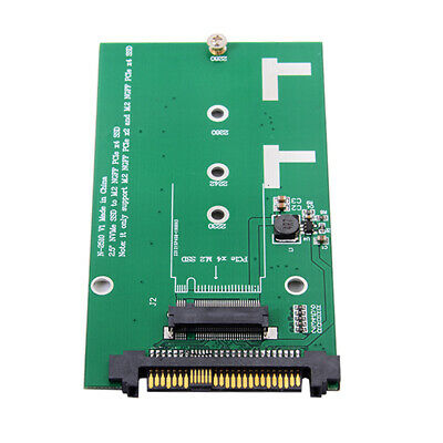 SFF-8639 NVME U.2 to NGFF M.2 M-Key PCIe SSD Case Enclosure Converter for Mainboard Replace Intel SSD 750 p3600 p3700 Black