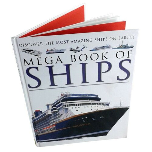 Mega Book of Ships Through The Ages From Egypian To Modern Day