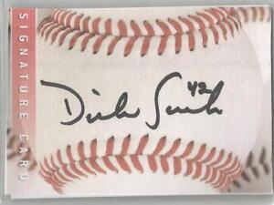 Washington Senators / Minnesota Twins DICK SUCH autographed Sweet Spot card