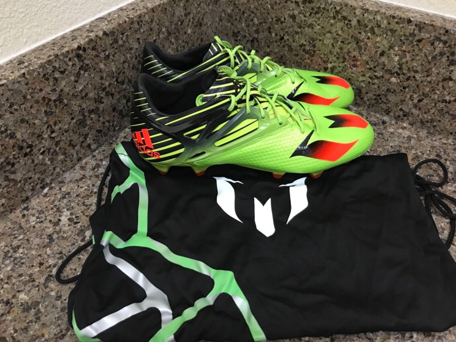 Adidas messi 15,1 fg / ag gli scarpini sz da calcio s74679 uomini sz scarpini 7-7.5, 9, 5, 7, 11 e7fb75