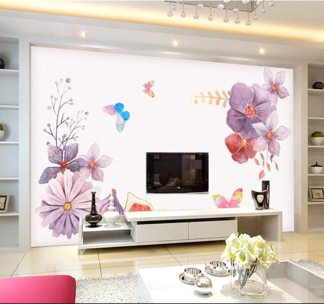 3D Bright Flowers Fruit 4873 Wall Paper Wall Print Decal Wall AJ WALLPAPER CA