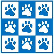 New Listing30 Custom Blue Paw Print Art Personalized Address Labels