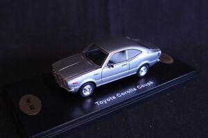 QSP-Model-Collection-Toyota-Corolla-E35-Coupe-1-43-Silver