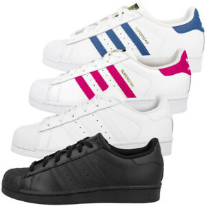 on sale 8e78c bfdb4 ... Adidas-Superstar-Foundation-J-Chaussures-De-Loisirs-Retro-