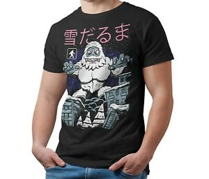 Abominable-Snowman-Kaiju-T-Shirt-Japanese-Monster-Unisex-Shirt-Adult-amp-Kids