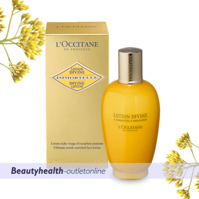L'Occitane Immortelle Divine Lotion 200ml Natural Powerful Anti-aging FREE POST*