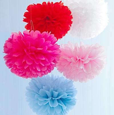 Aggressivo Pompom 's Decorazione, Party, Feste, Matrimonio 25 -35 Cm, Per Abito Da Sposa, Candybar-mostra Il Titolo Originale Vari Stili