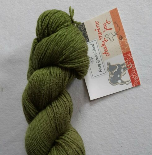 Pt 100 g Rosy Green CHEEKY MERINO JOY Fb 054 Glücksklee #4476 14140