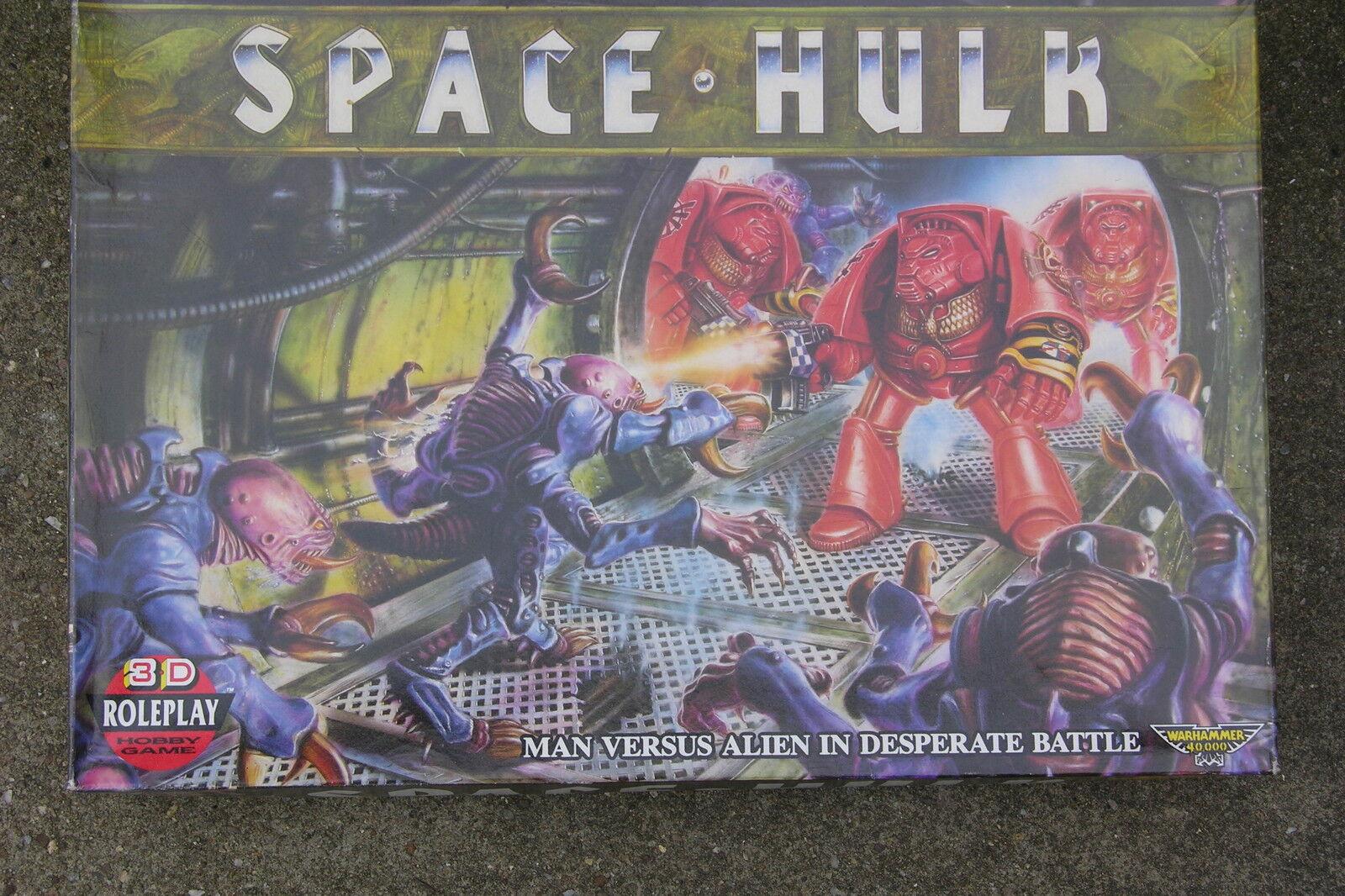 GAMES WORKSHOP   SPACEHULK,   1st  EDITION ,