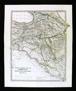 1865 mapa spruner anceint armenia mesopotamia babilonia asiria