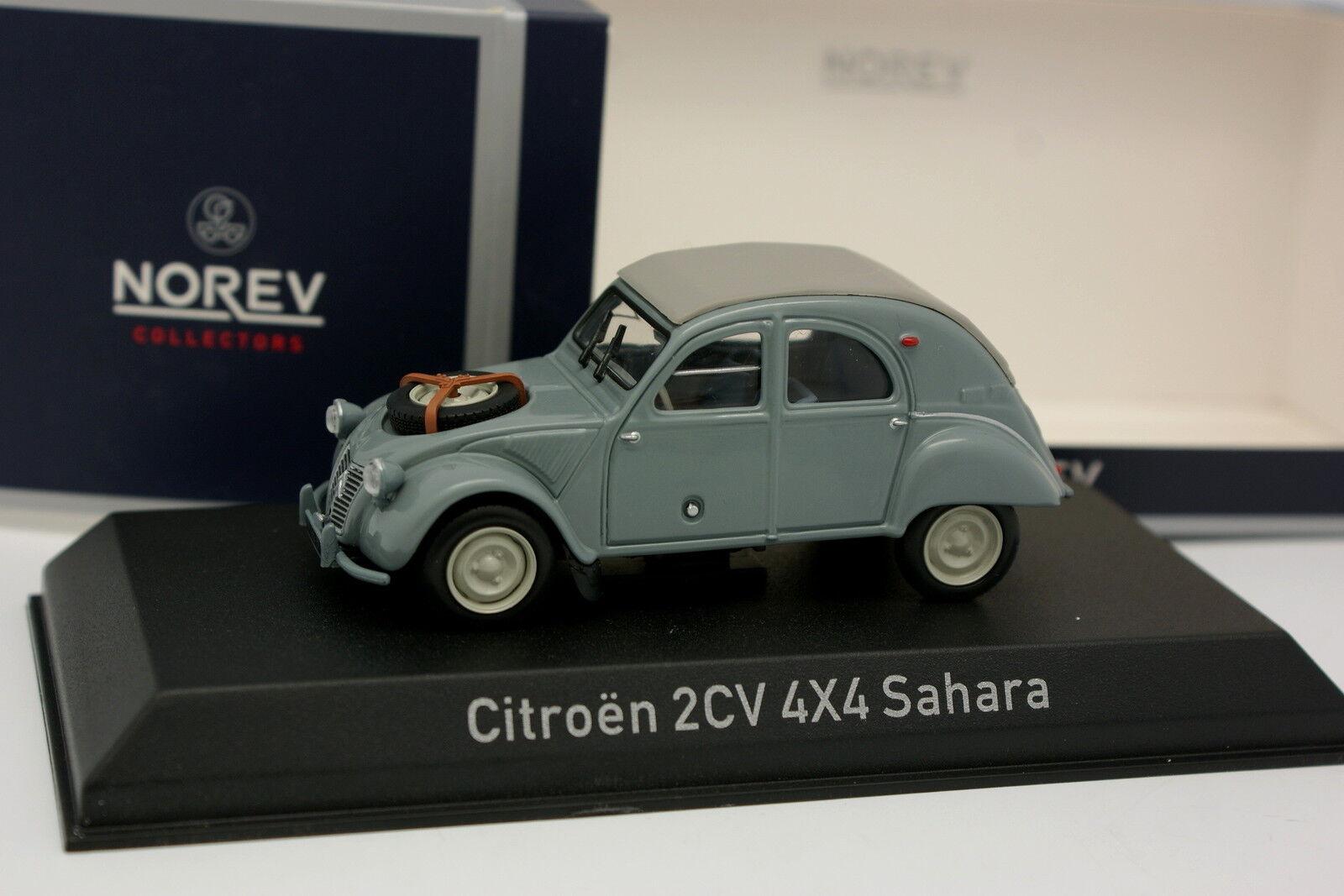 Norev 1 43 - Citroen 2CV 4X4 Sahara 1961