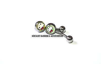 316l Surgical Steel *THE COOL PLAYBOY* Navel//Belly Ring NV163
