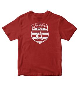 Image is loading Club-Africain-Tunisia-Football-Soccer-T-shirt-Africa c0aa14e80d7
