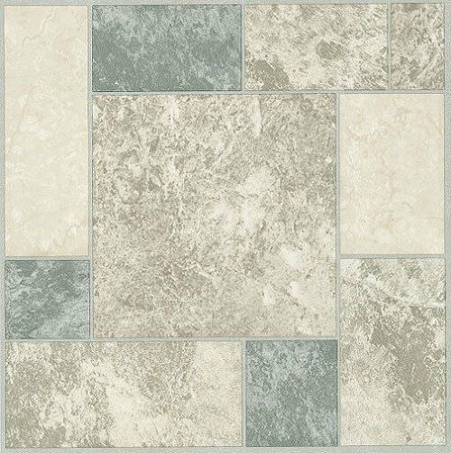 White Grey Blue Marble Self Stick Adhesive Vinyl Floor Tiles 40 Pieces 12x12