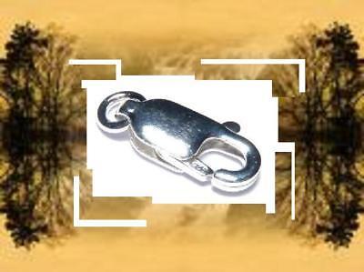 CHJR8 8 mm EN ARGENT MASSIF 925 *.Réf FERMOIR RECTANGLE