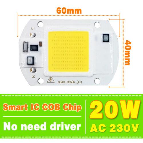 30W 50W intelligenter IC LED Chip COB Lens Reflector kit Hohe Energie AC 220V
