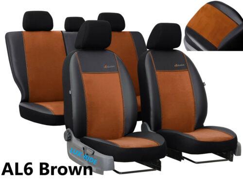 TOYOTA Hilux 2005-2016 pelle e Alicante Seat Covers fatta su misura per auto