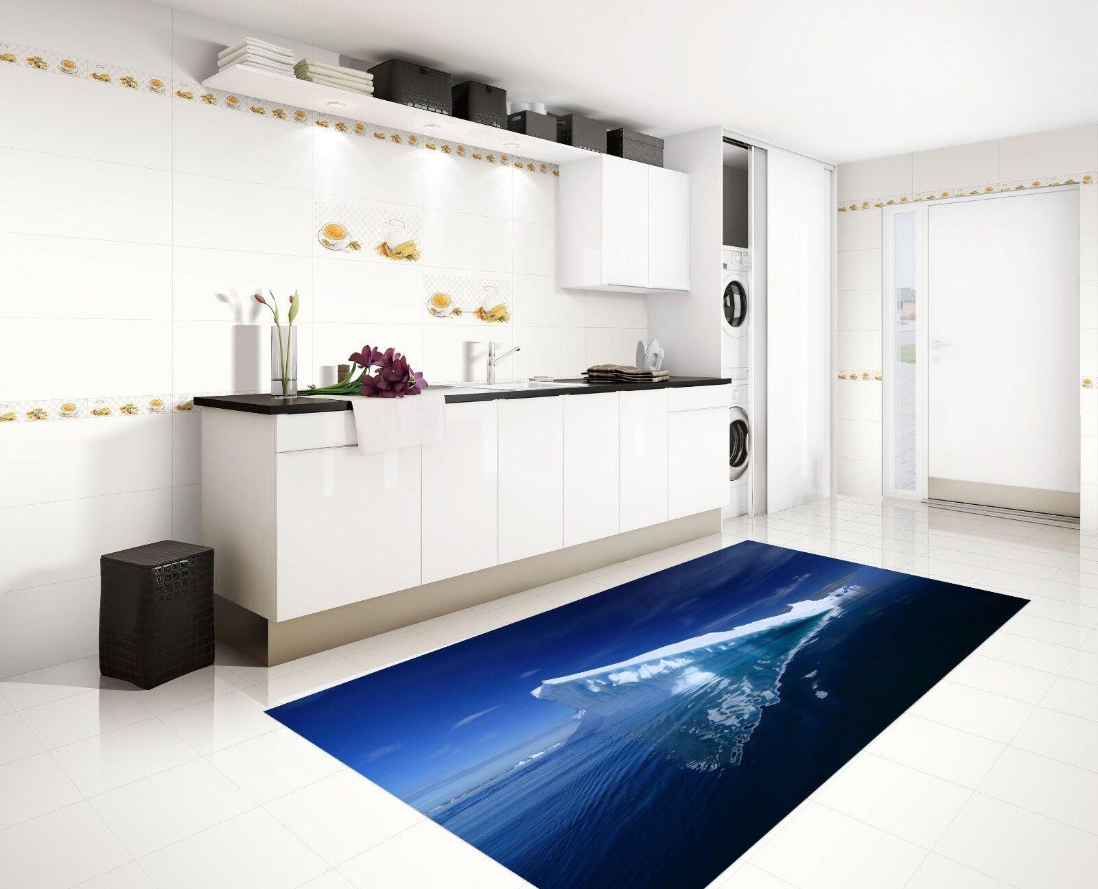 3D Sky Glacier 860 Kitchen Mat Floor Murals Wall Print Wall Deco UK Carly