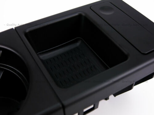 FOR BMW E46 Black Cup Holder /& Coin Holder 320 323 325 328 330 316 318 M3