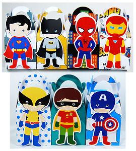 Candy Boxen Geburtstag Kindergarten Spiderman Sussigkeiten