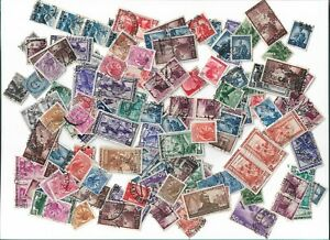 Italy-postage-stamps-x-143-Batch-2-off-paper