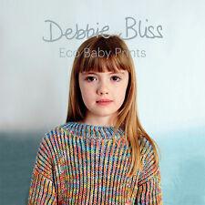 Debbie Bliss Eco Baby Prints Babies Boys & Girls Knitting Pattern Book