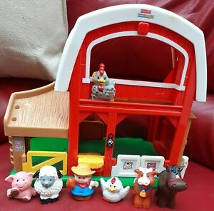 Fisher-Price-Little-People-Suoni-Animali-Fattoria-Animali-Stalla-amp-amp-Agricoltore